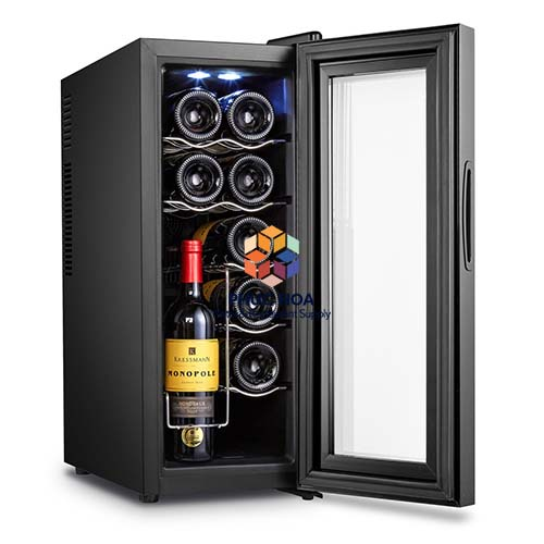 Tủ bảo quản rượu vang BCW-35